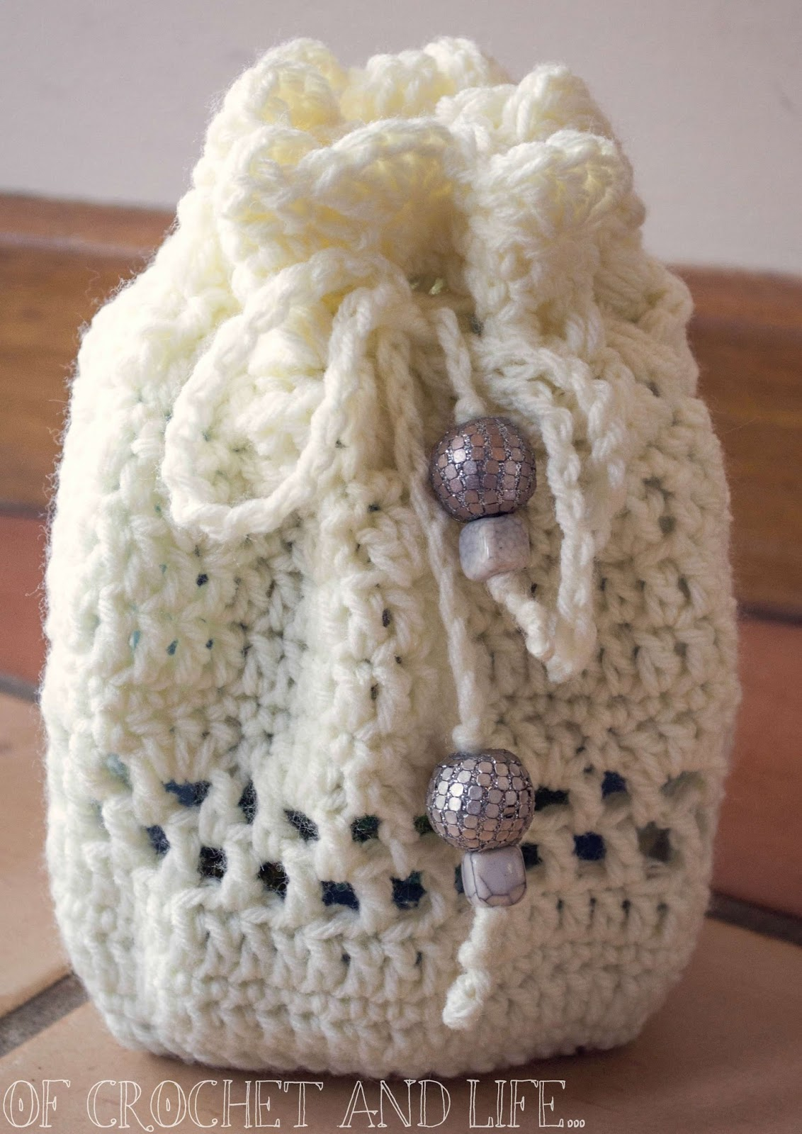 Of Crochet and Life...: Tasha\'s Tarot Bag ~ Crochet Pattern