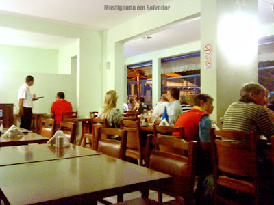 Chopp do Miguel: Ambiente interno