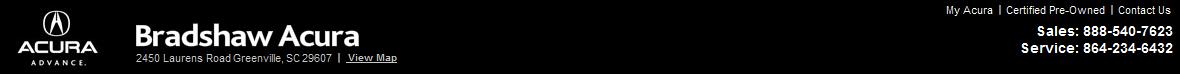Bradshaw Acura