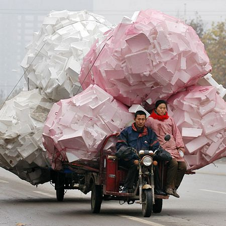 Funny china's tranporter pictures