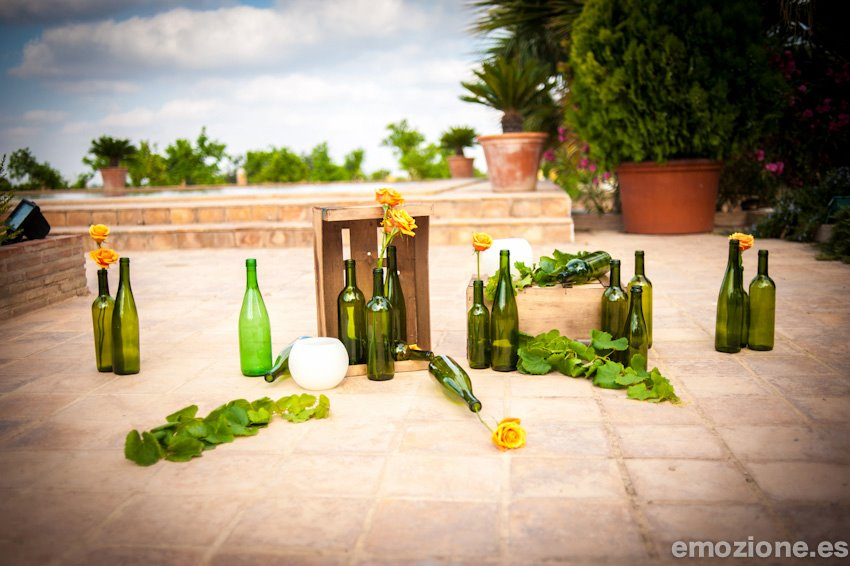Bodas a medida mas a de aldamar escenario de una boda for Decoracion bodas valencia