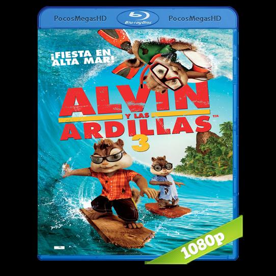 Alvin Y Las Ardillas 3 (2011) BRRip 1080p Audio Dual Latino/Ingles 5.1