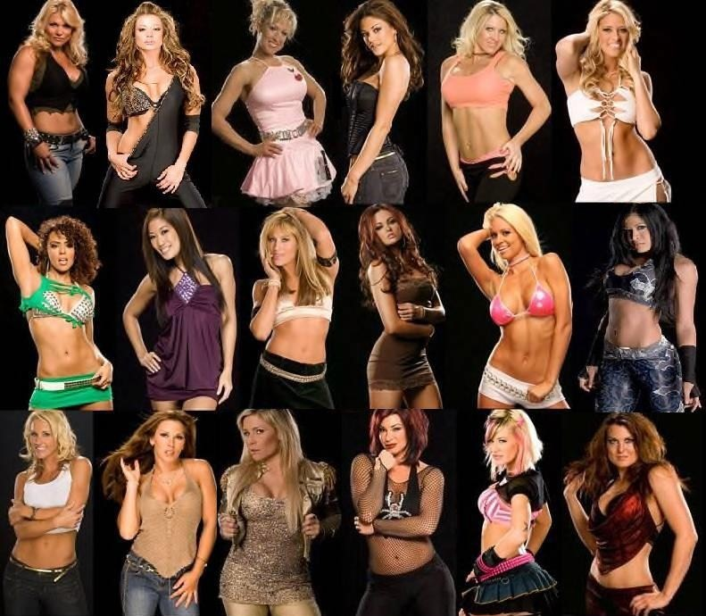 and current divas in WWE