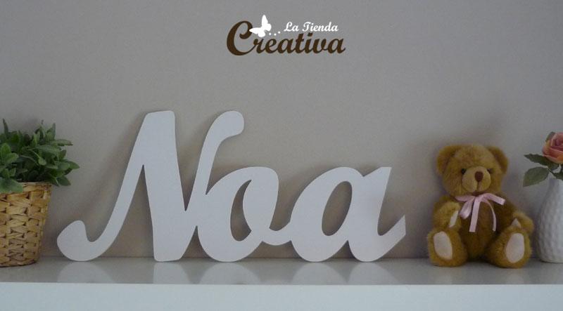 La Tienda Creativa - Letras para decorar y mucho más: Letras para ...