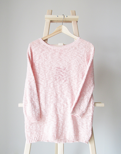 Joe Fresh pink sweater