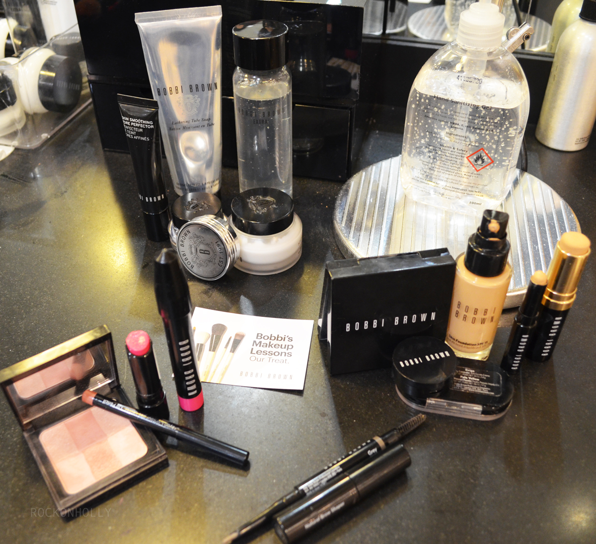 Bobbi Brown Make Up Lesson