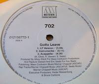 702 - Gotta Leave (VLS) (2000)