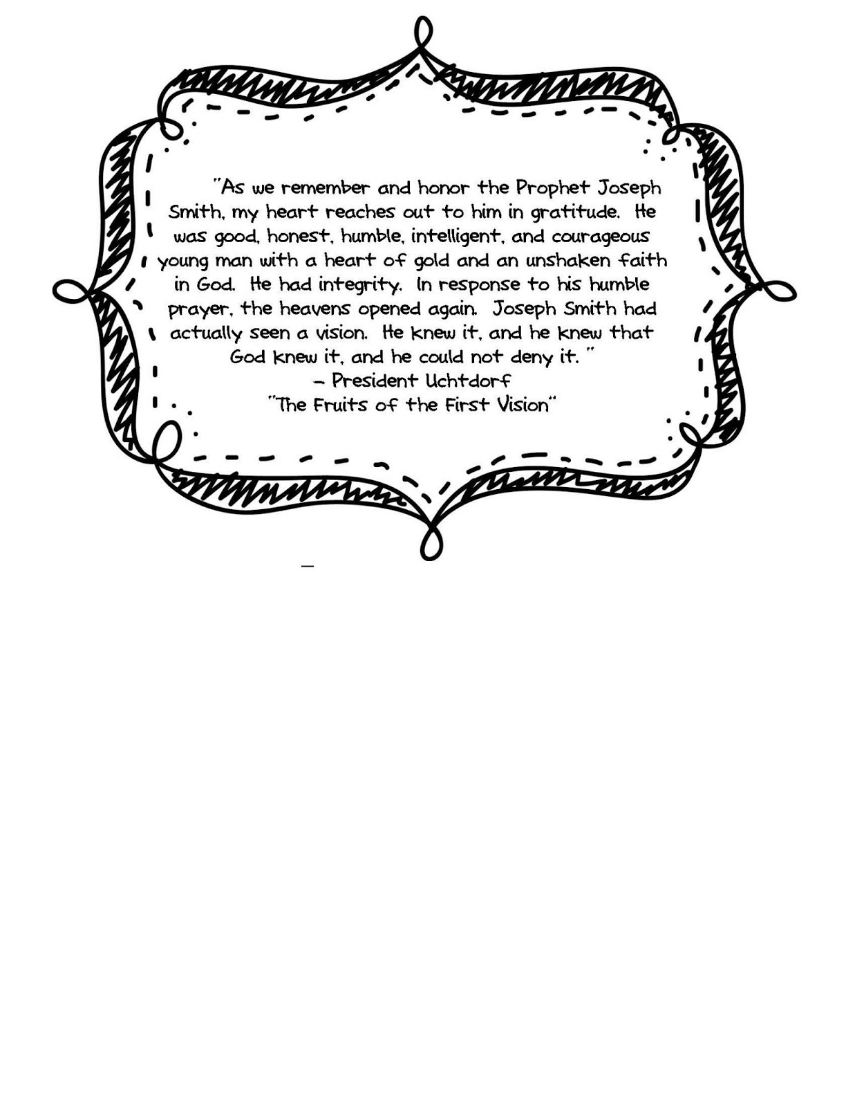 Joseph smith first vision coloring page free coloring pages for First vision coloring page