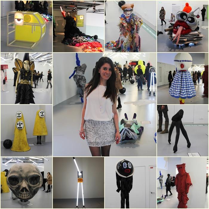 diana dazzling, fashion blogger, fashion blog,  cmgvb, como me gusta vivir bien, dazzling, luxury, gaité lyrique, Paris, fashion, Arrrgh Monstres de Mode, monster, exhibition, fashion designers