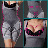 NATURAL BAMBOO CHARCOAL SLIMMING SUIT