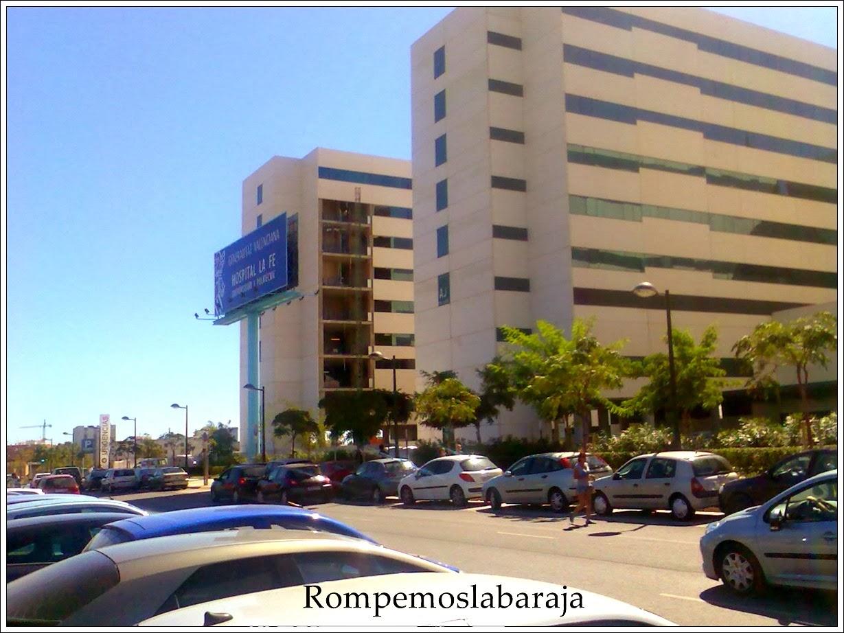 La basura y los restos organicos recorren la fe en carros - Hospital nueva fe valencia ...