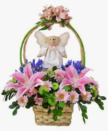 Arreglos Florales en Cestas, parte 1