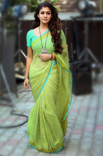 Nayantara Latest Stills in Saree from Puthiya Niyamam Movie ~ Celebs Next