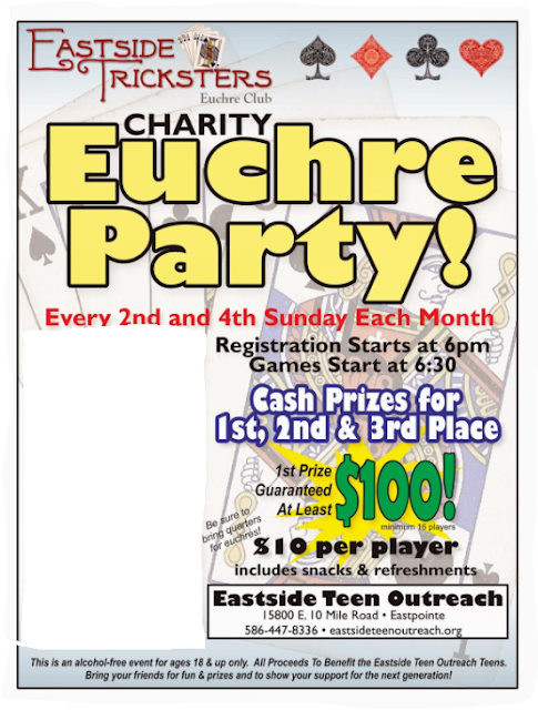 Euchre Charity Fundraiser Michigan