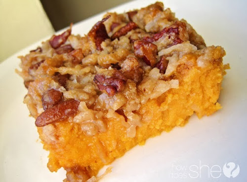 Sweet Potatoe Souffle - This is an old old family recipe. It is truely ...