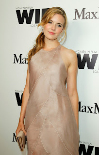 actress Maggie Grace looks hot at Max Mara Women In Film Cocktail Party