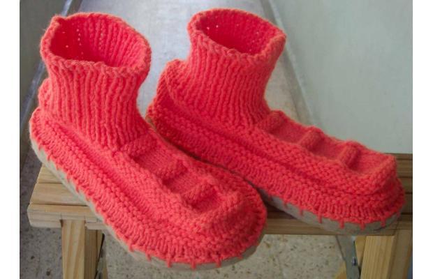 Haciendo puntos ideas para sobrantes de lana - Como hacer calcetines de lana ...