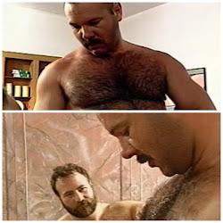 Bigodudo peludo: sexo a 3.