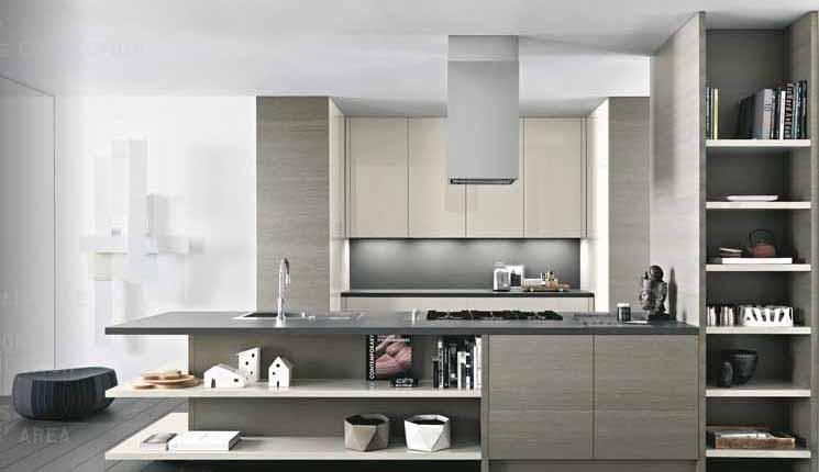 Furnitur kayu untuk desain dapur modern gaya italia dari caesar info desain dapur 2014 Modern elegant kitchen design
