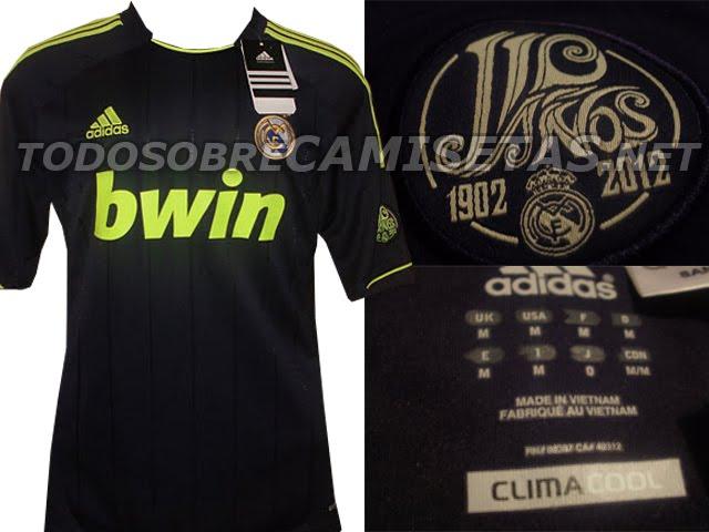 Del Real Madrid 2012 2013 Ha Sido Filtrada La Segunda Camiseta Del