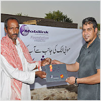 Mobilink Foundation Construction for Flood Victims