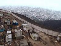 Wall Of Shame, Dinding Pemisah Antara Orang Kaya dan Miskin di Peru