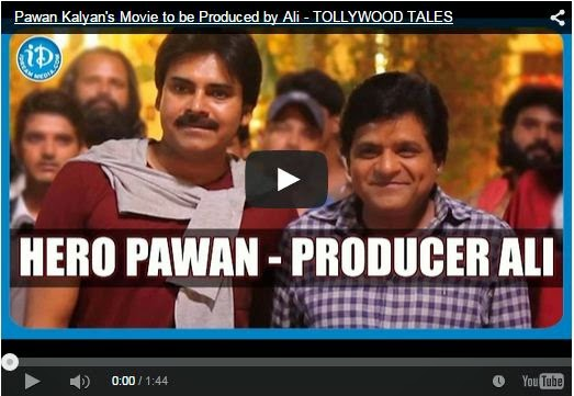 Pawan Kalyan's Movie to be Produced by Ali