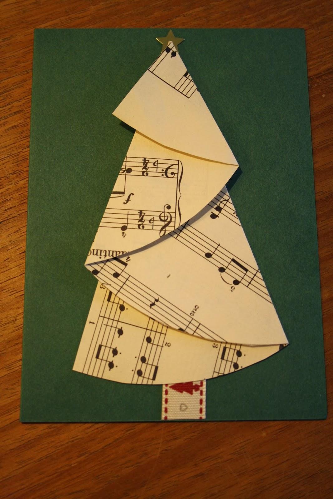 Mijn Tijdverdrijf Kerstbomen Vouwen
