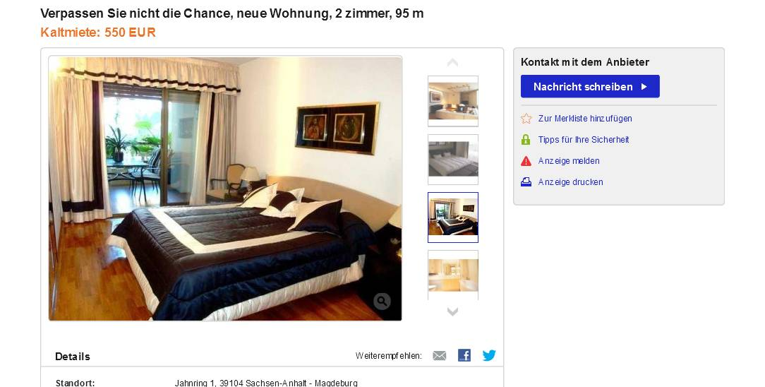 klaus bake33 gegen wohnungsbetrug against rental scammers. Black Bedroom Furniture Sets. Home Design Ideas