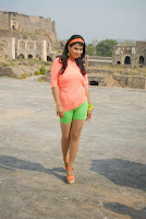 Actress Sharmila Mandre Latest Picture Gallery in Green Shorts 0010.JPG