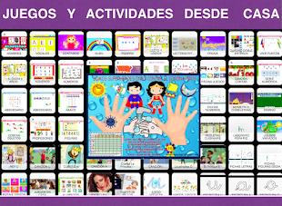JUEGOS Y ACTIVIDADES DESDE CASA