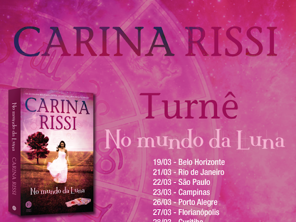 Eventos do Grupo Editorial Record: Turnê Carina Rissi
