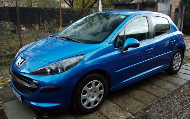 Novo Peugeot 207 Blue Lion