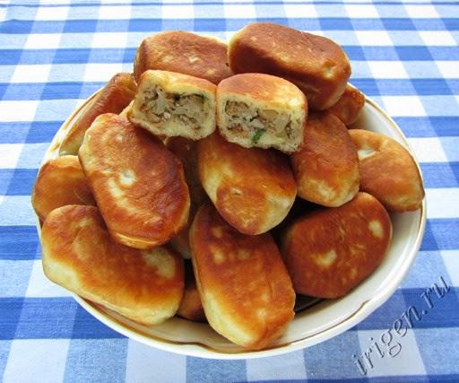 Пирожки с мясом рецепты
