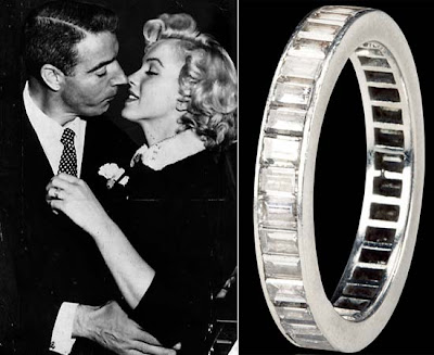 Picture Of Marilyn Monroe S Ring From Arthur Miller