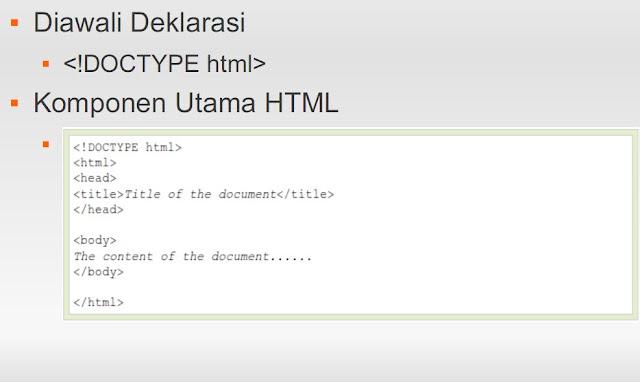 Awal Coding HTML 5