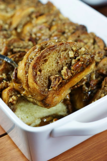 Overnight Praline French Toast   www.thekitchenismyplayground.com