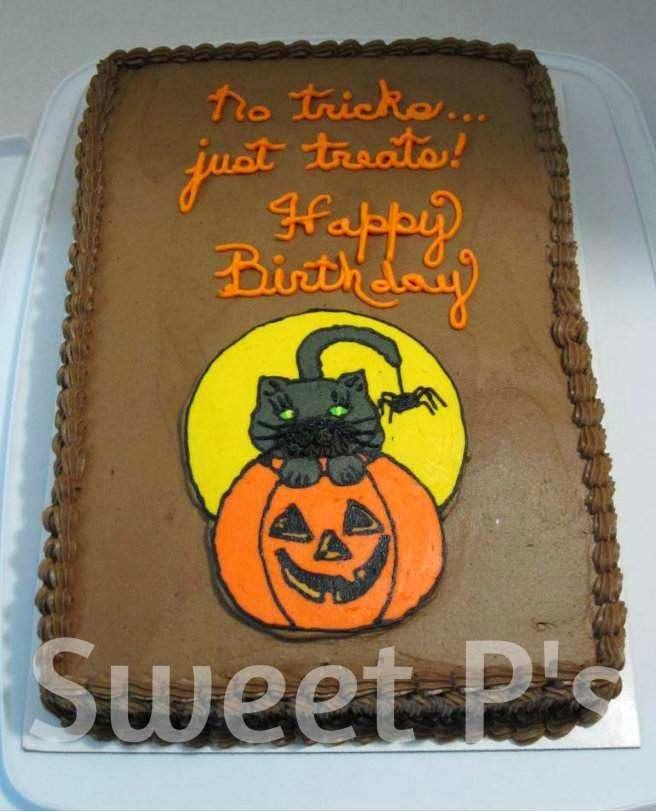 Easy Halloween Cake Ideas Sweet Ps Cake Decorating Baking Blog