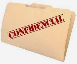 relatório confidencial
