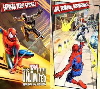 Main Game Spiderman di HP Android Gratis