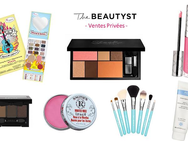 Les Ventes Privées The Beautyst : jusqu'à -50% sur le maquillage et le soin