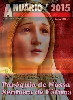 ANUÁRIO EXTRAOFICIAL DA PAROQUIA DE N. SENHORA DE FÁTIMA