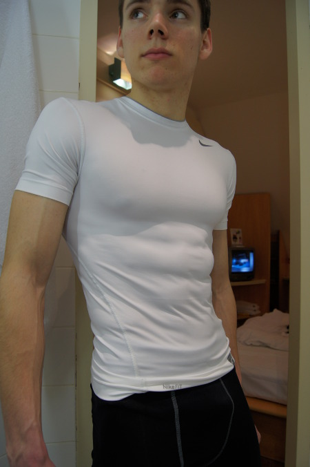 Jul 20,  · Posing in my American Apparel Baby Thermal Long Sleeve Henley shirt.