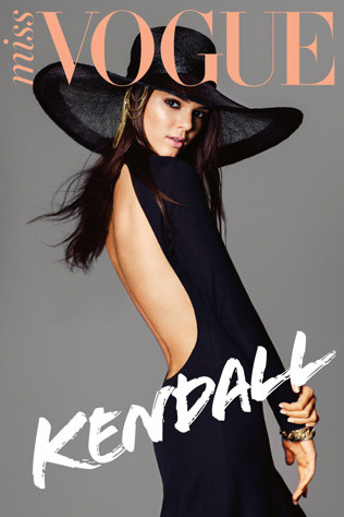 Kendall Jenner covers Miss Vogue