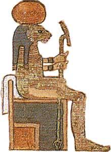 The goddess Tefnut!!!