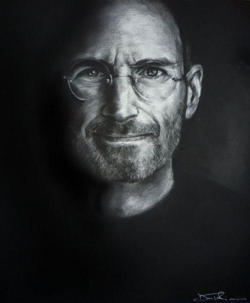 40 Lukisan Steve Jobs yang Mengagumkan: Steve