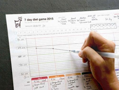 Diet Game 2015 by Yukié Matsushita