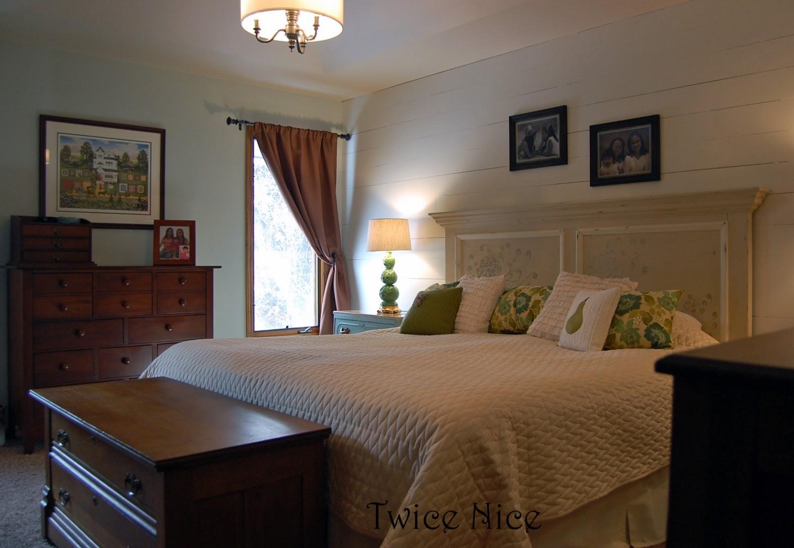 Twice Nice Master Bedroom Update
