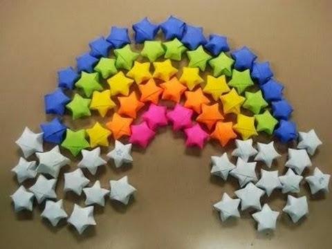 origami stars paper