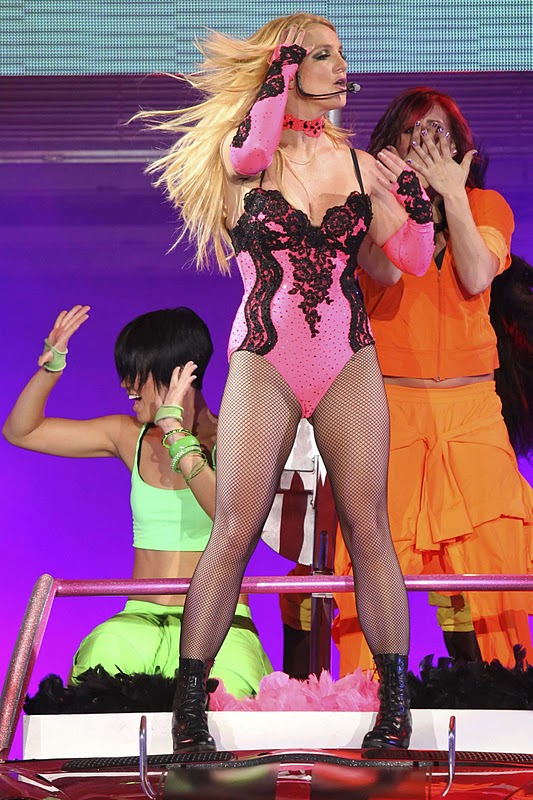 Britney Spears Performs on Stage in Moscow